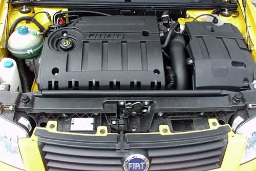 Fiat Stilo Abarth motor 2,4l pětiválec
